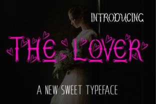 The Lover Decorative Font By ed.creative