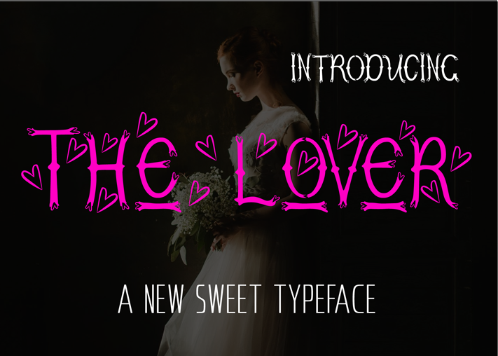Print on Demand: The Lover Decorative Font By ed.creative
