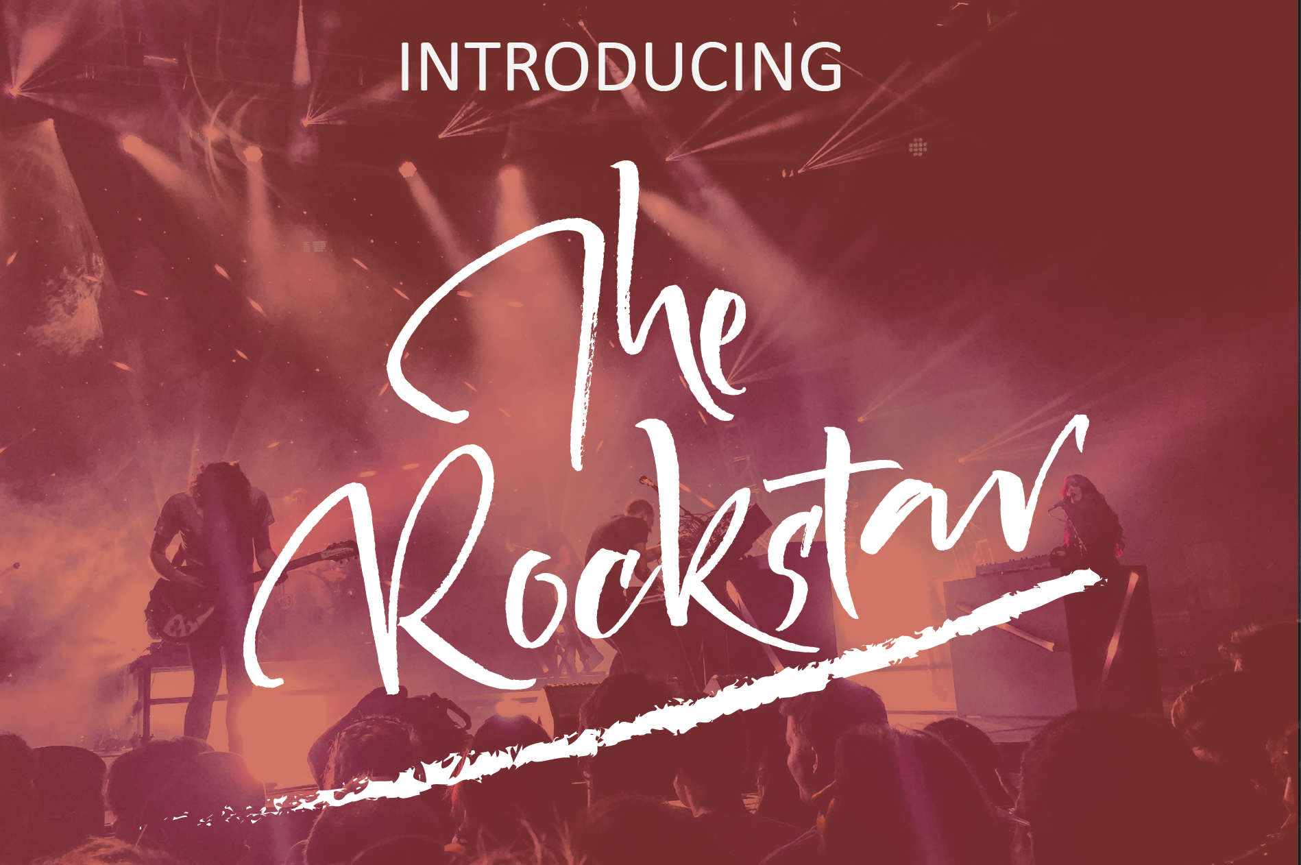 Print on Demand: The Rockstar Script & Handwritten Font By ed.creative