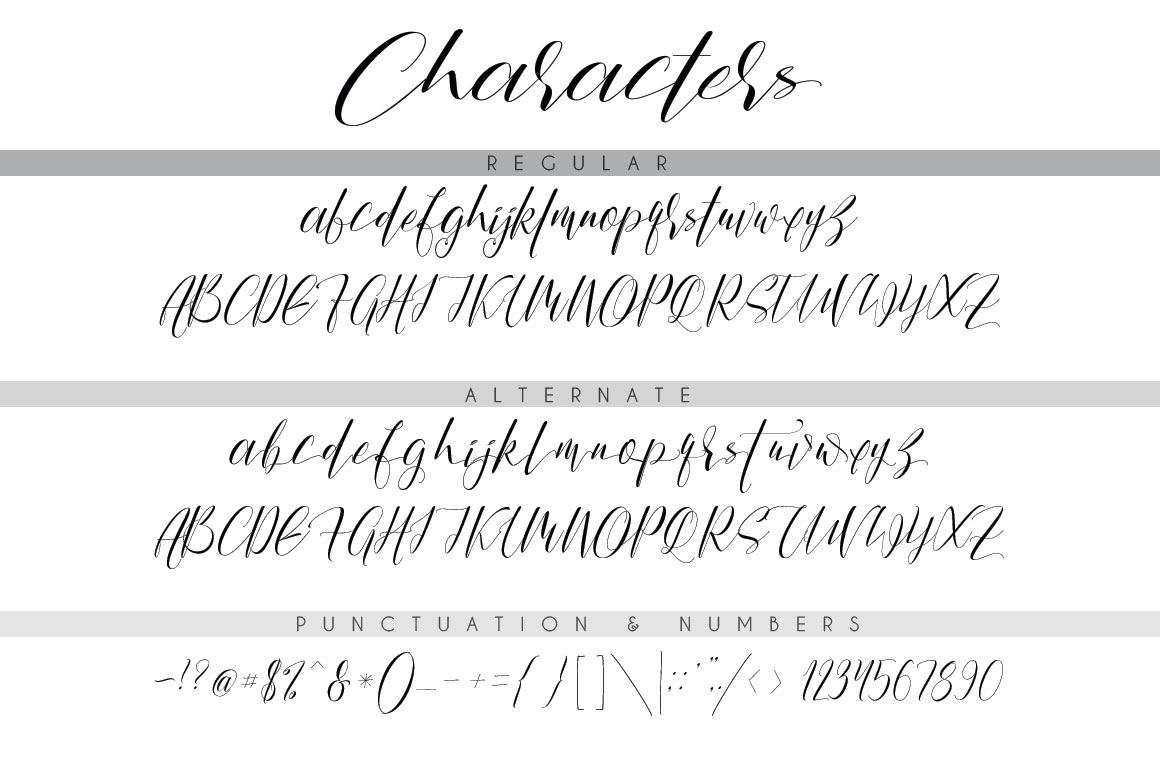 Print on Demand: The Shallow Script & Handwritten Font By beeart009 - Image 7
