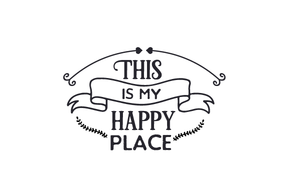 This is My Happy Place Nature & Outdoors Craft Cut File By Creative Fabrica Crafts