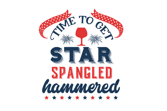 Time to Get Star Spangled Hammered Craft Design By Creative Fabrica Crafts