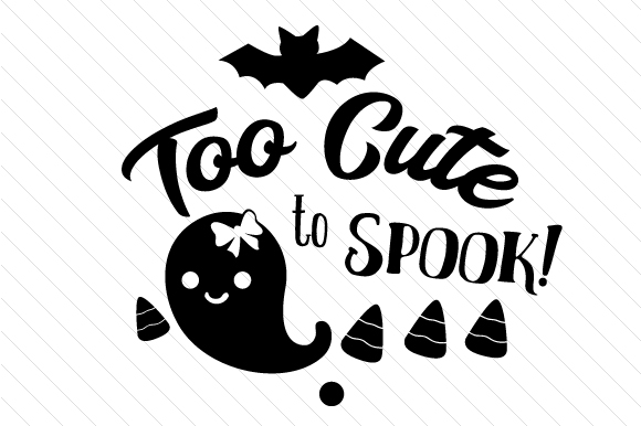 Too Cute to Spook Halloween Craft Cut File By Creative Fabrica Crafts - Image 2