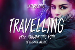Travelling Free Brush Font Font By Creative Fabrica Freebies