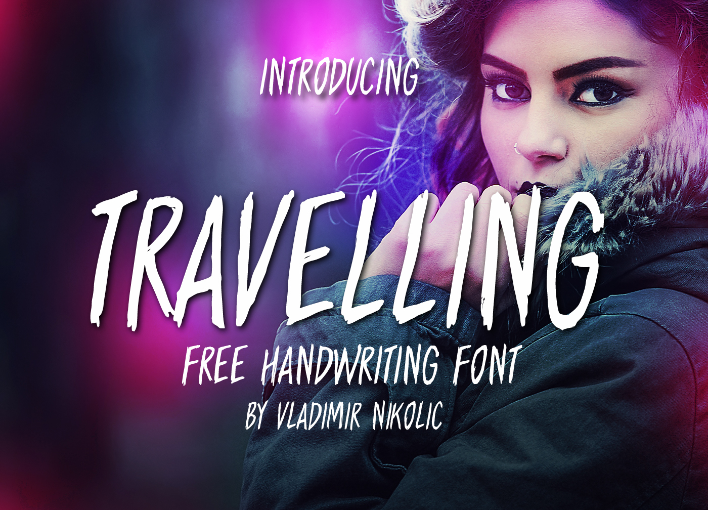 Print on Demand: Travelling Free Brush Font Font By Creative Fabrica Freebies