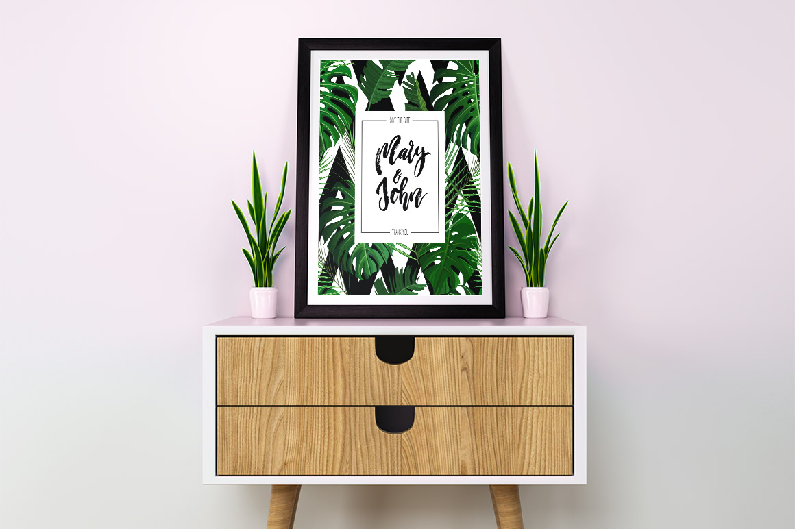 Download Free Tropical Patterns Elements Bonus Graphic By Iradvilyuk for Cricut Explore, Silhouette and other cutting machines.