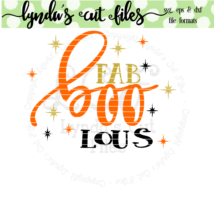 Download Free Fab Boo Lous Graphic By Lynda S Cut Files Creative Fabrica SVG Cut Files