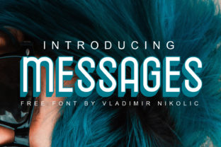 Messages Font By Creative Fabrica Freebies