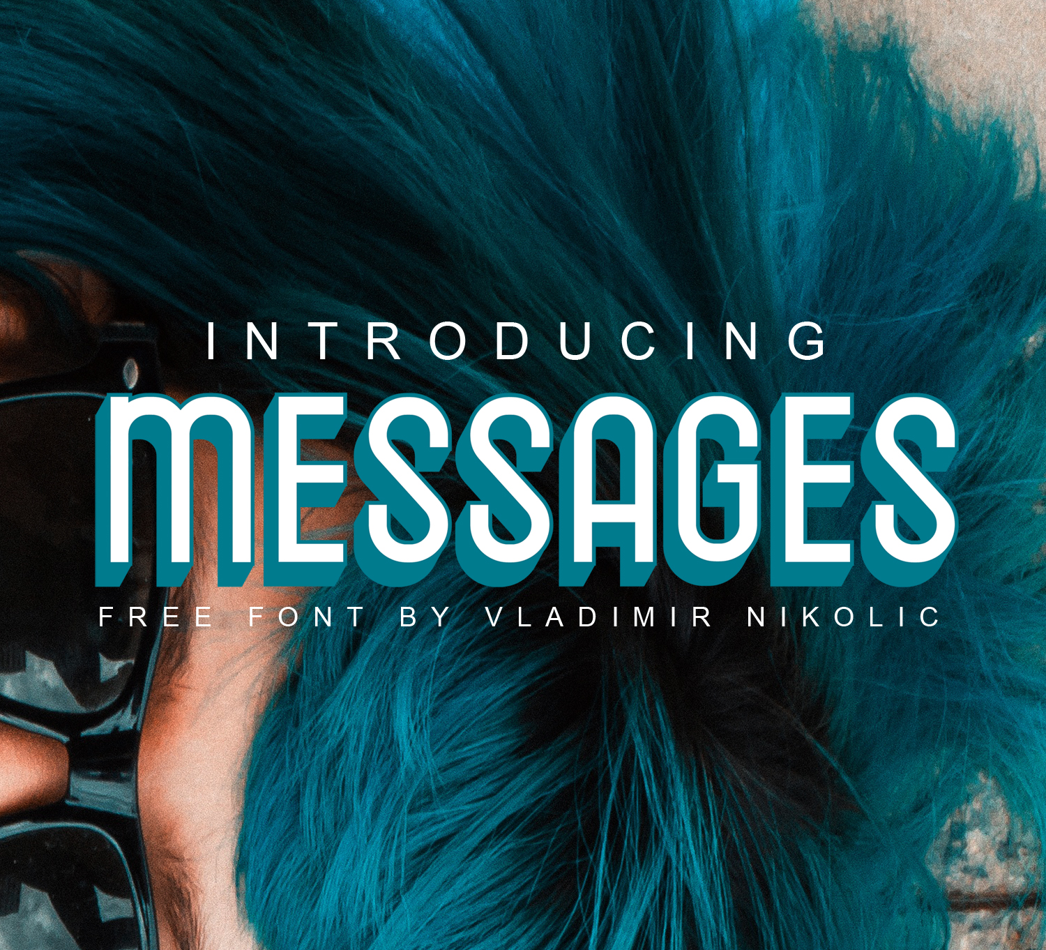 Print on Demand: Messages Schriftarten von Creative Fabrica Freebies
