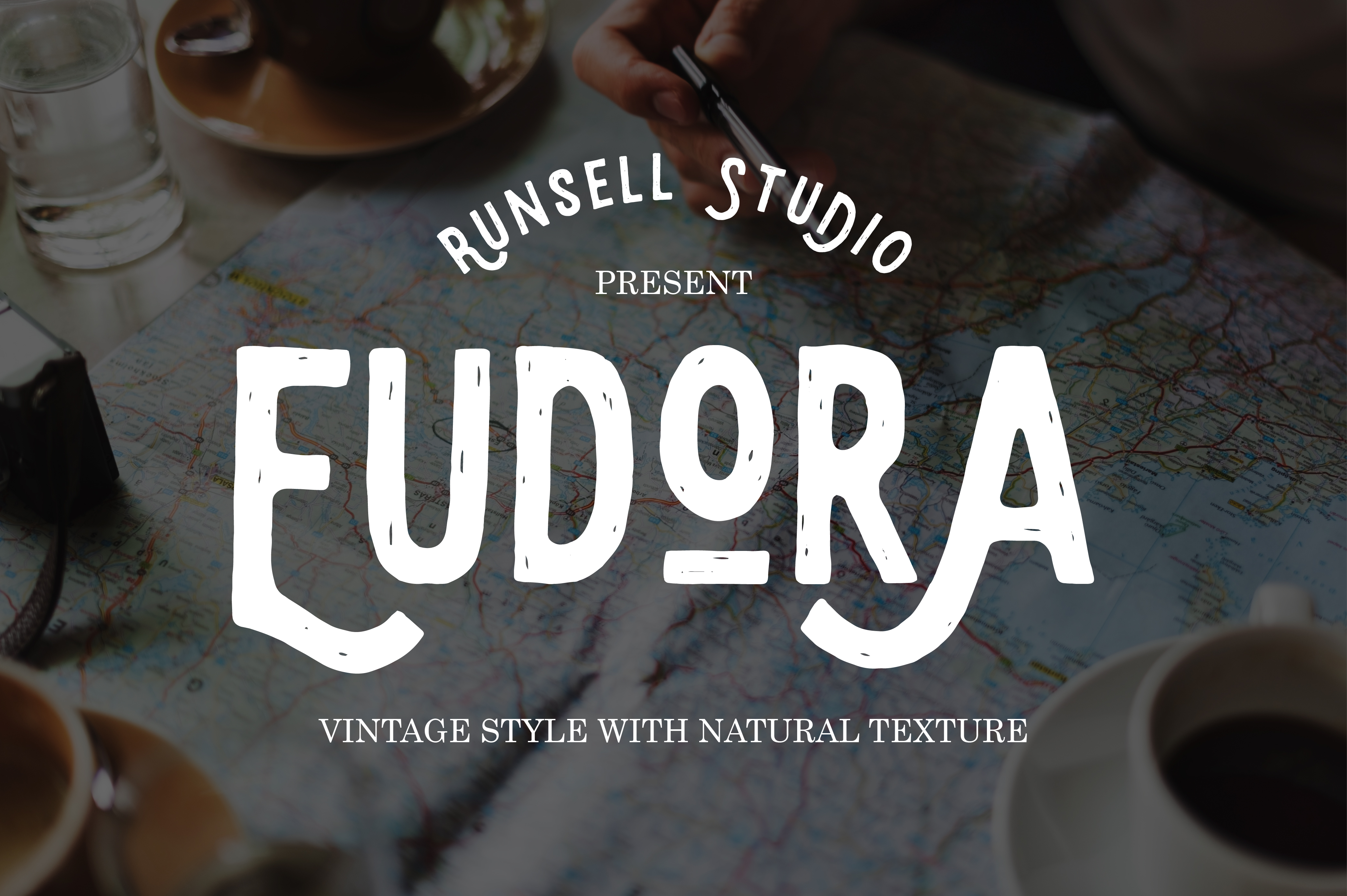 Eudora Display Font By Runsell Graphic