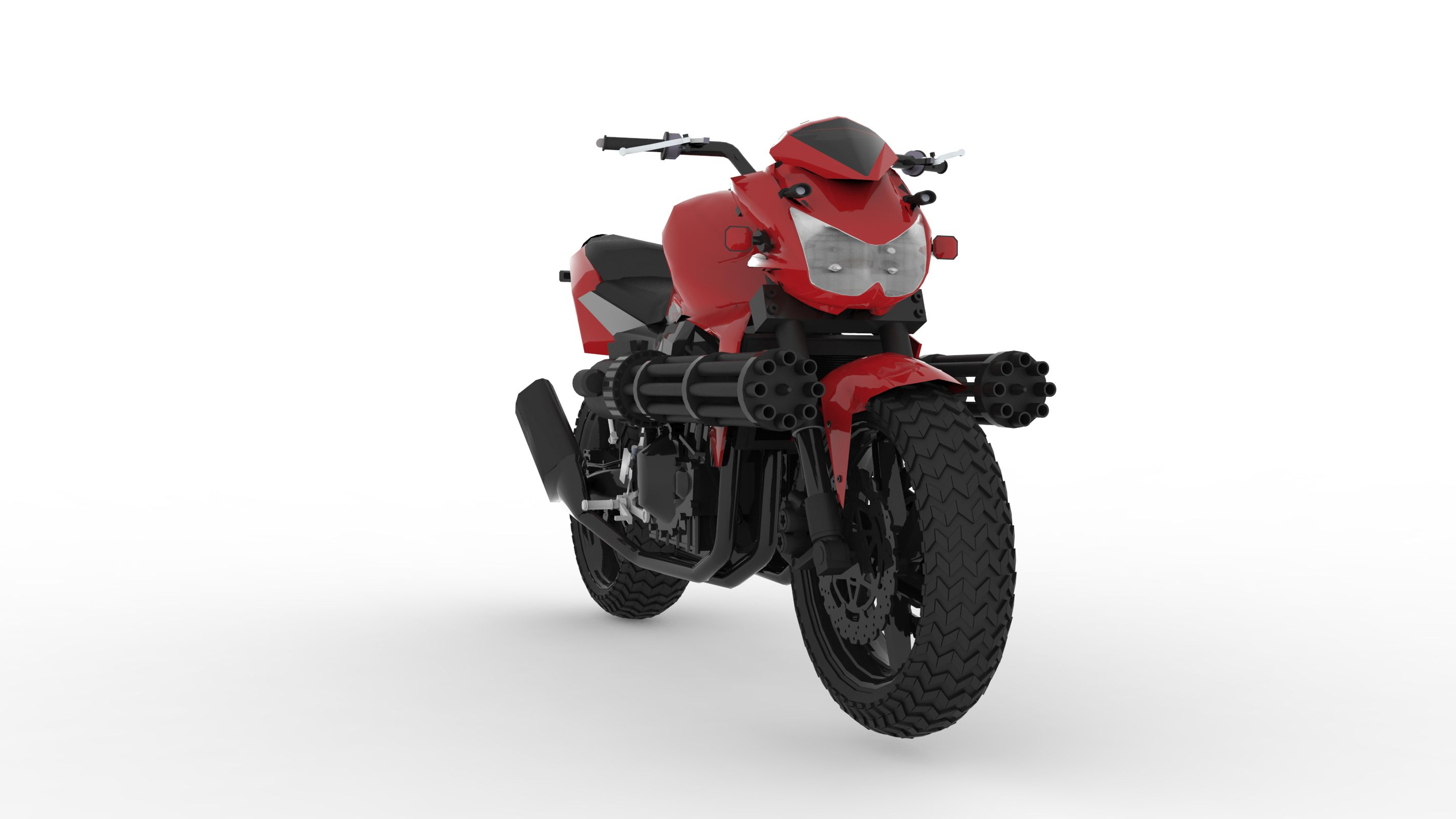 Print on Demand: 100 Render Auto Bikes Graphic Illustrations By Gblack Id