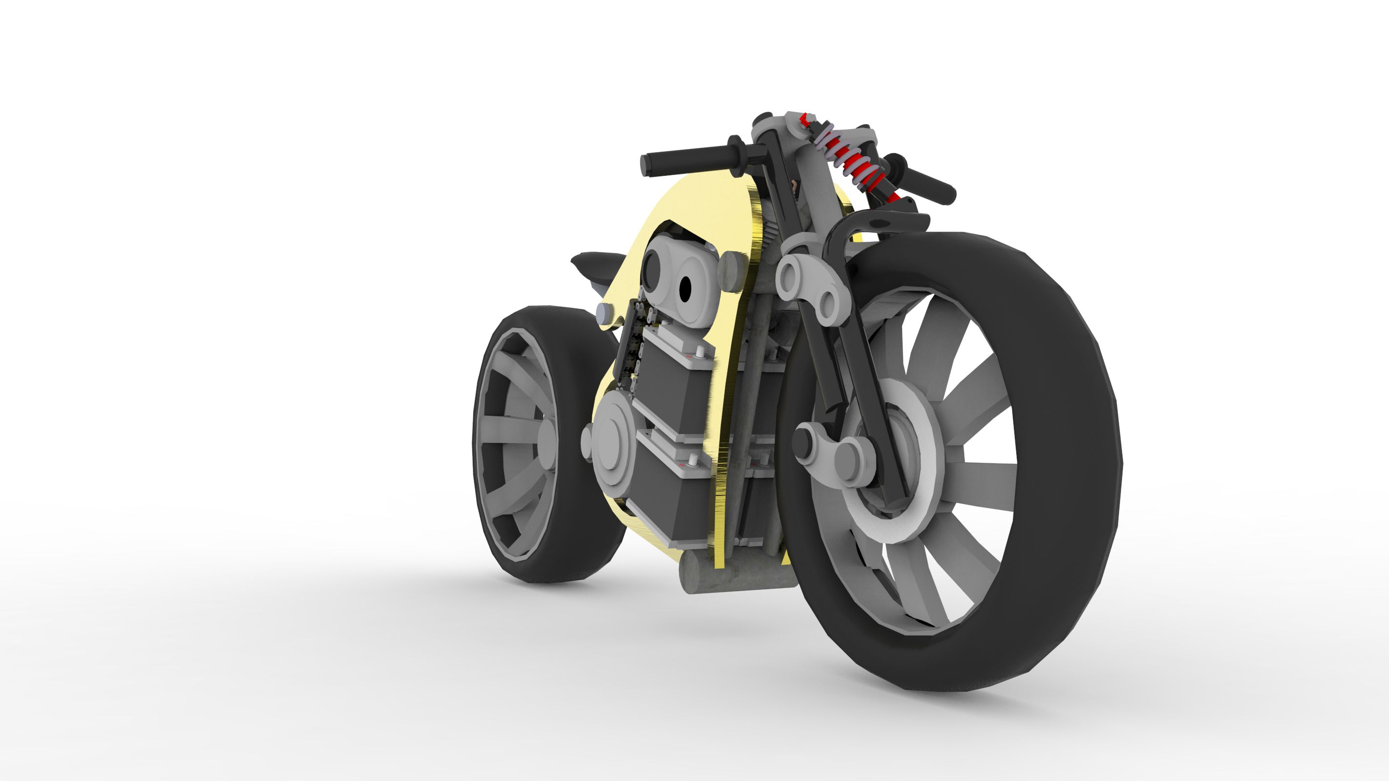 Print on Demand: 100 Render Bikes Graphic Illustrations By Gblack Id - Image 1
