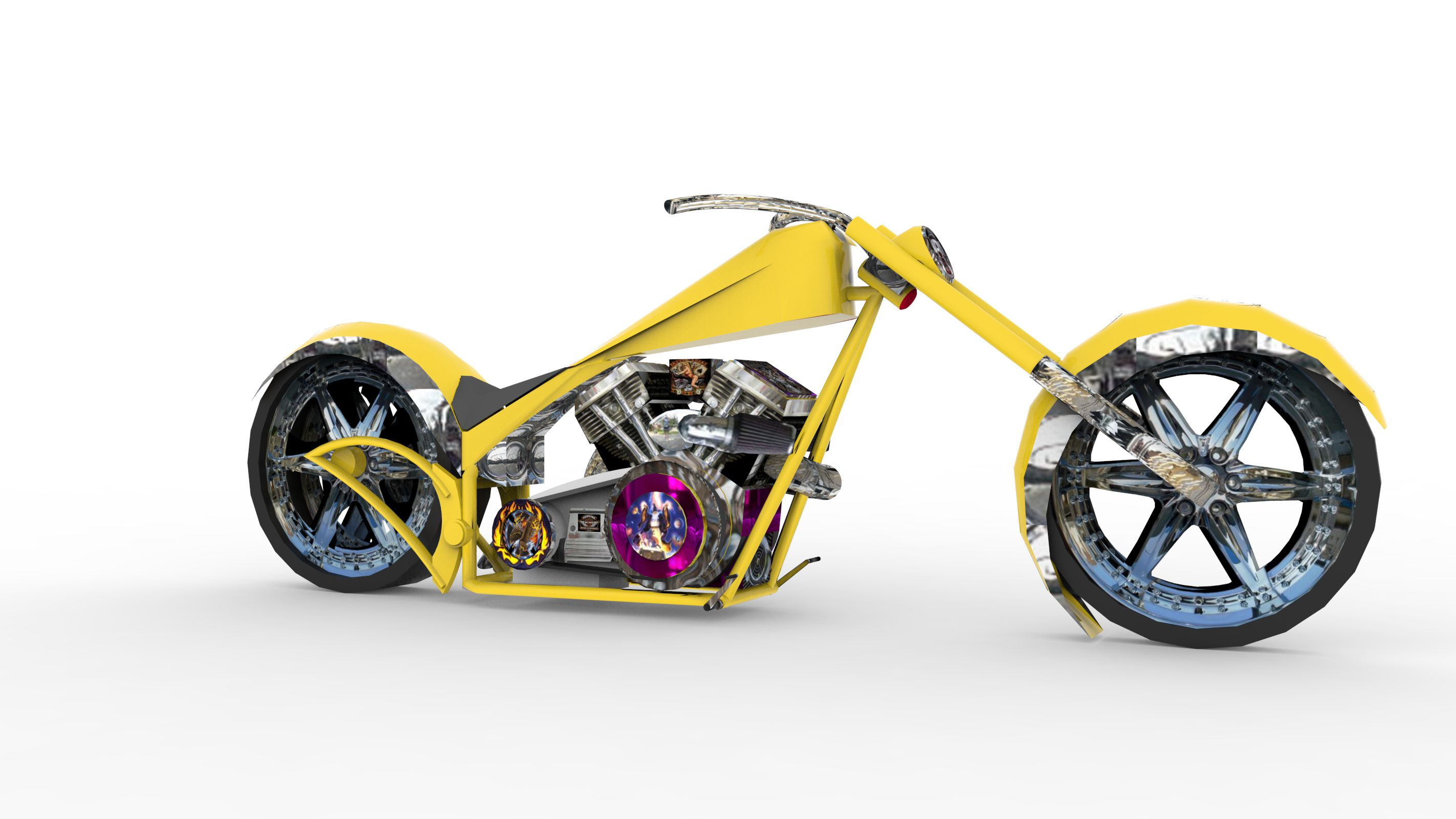 Print on Demand: 100 Render Classic Bikes Graphic Illustrations By Gblack Id