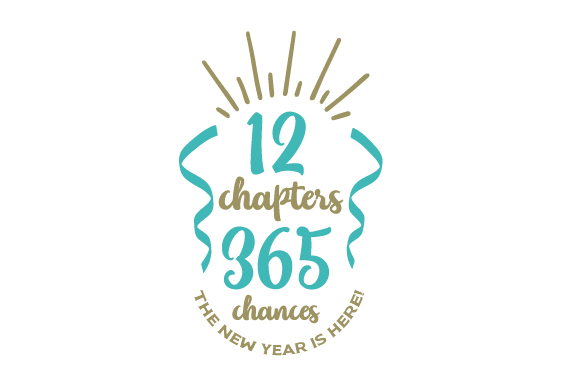 12 Chapters 365 Chances the New Year is Here! New Year's Craft Cut File By Creative Fabrica Crafts