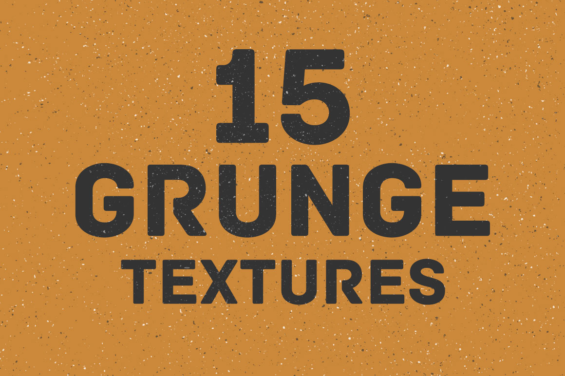 Print on Demand: 15 Grunge Textures Graphic Textures By Creative Tacos