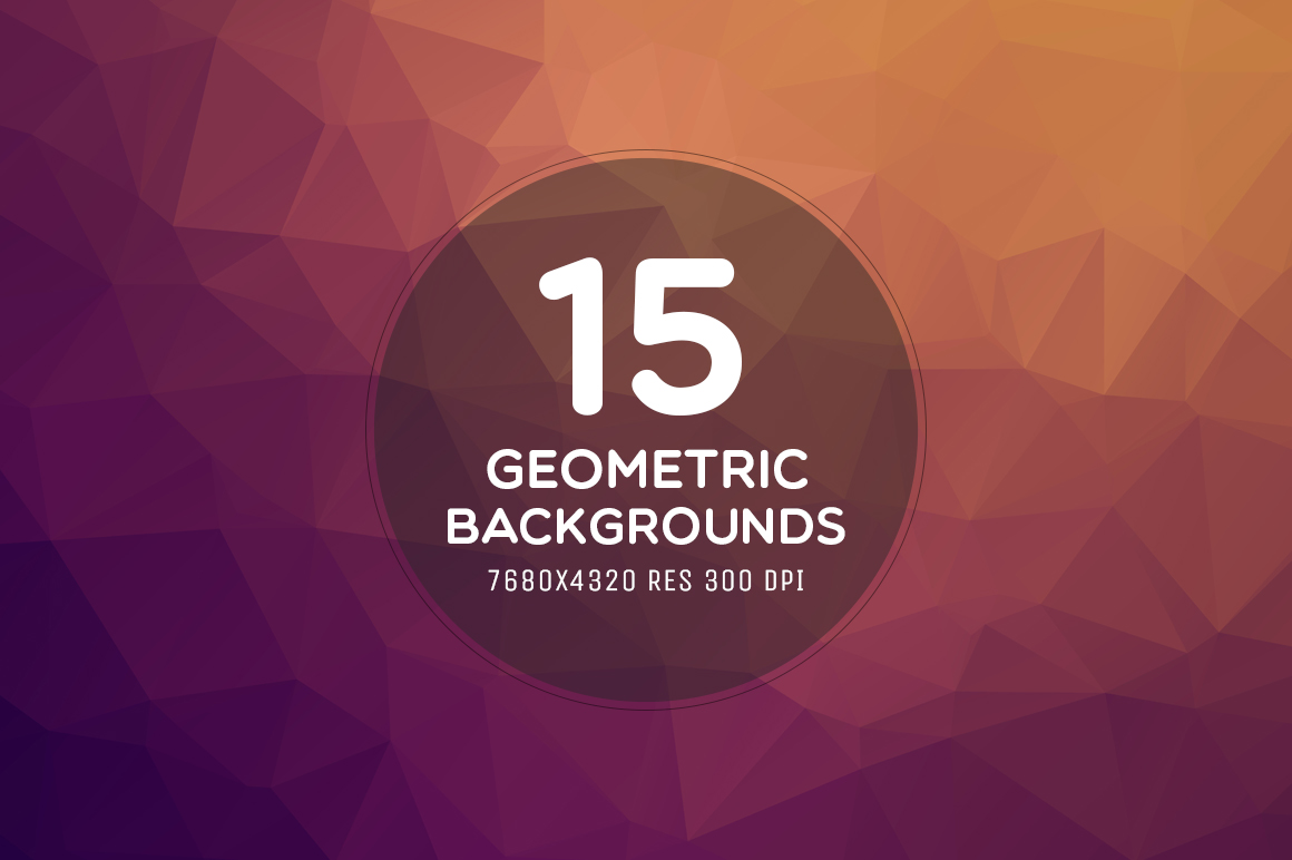 Download Free 15 Ultra Hd 8k Geometric Backgrounds Grafico Por Creative Tacos for Cricut Explore, Silhouette and other cutting machines.