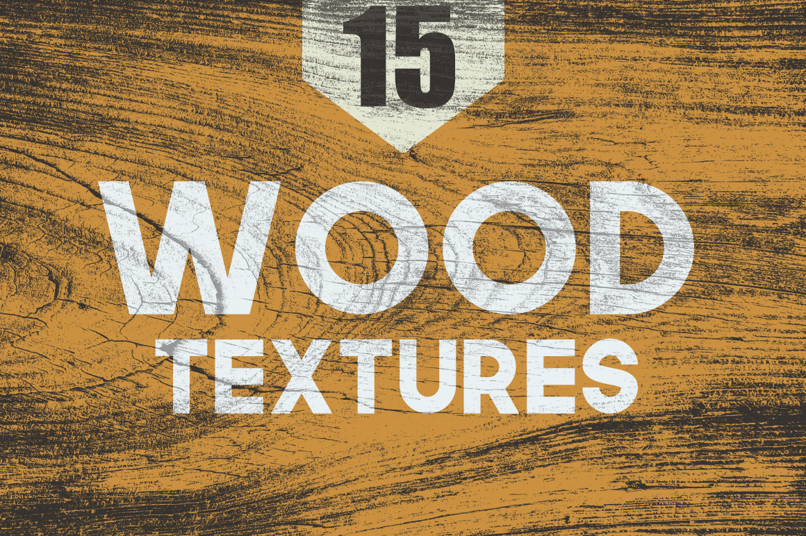 Print on Demand: 15 Wood Textures Graphic Textures By Creative Tacos