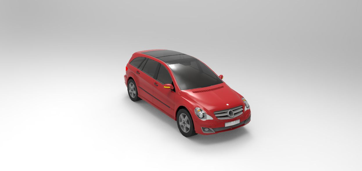 Print on Demand: 2006 Mercedes-Benz R-Class Graphic Illustrations By Gblack Id