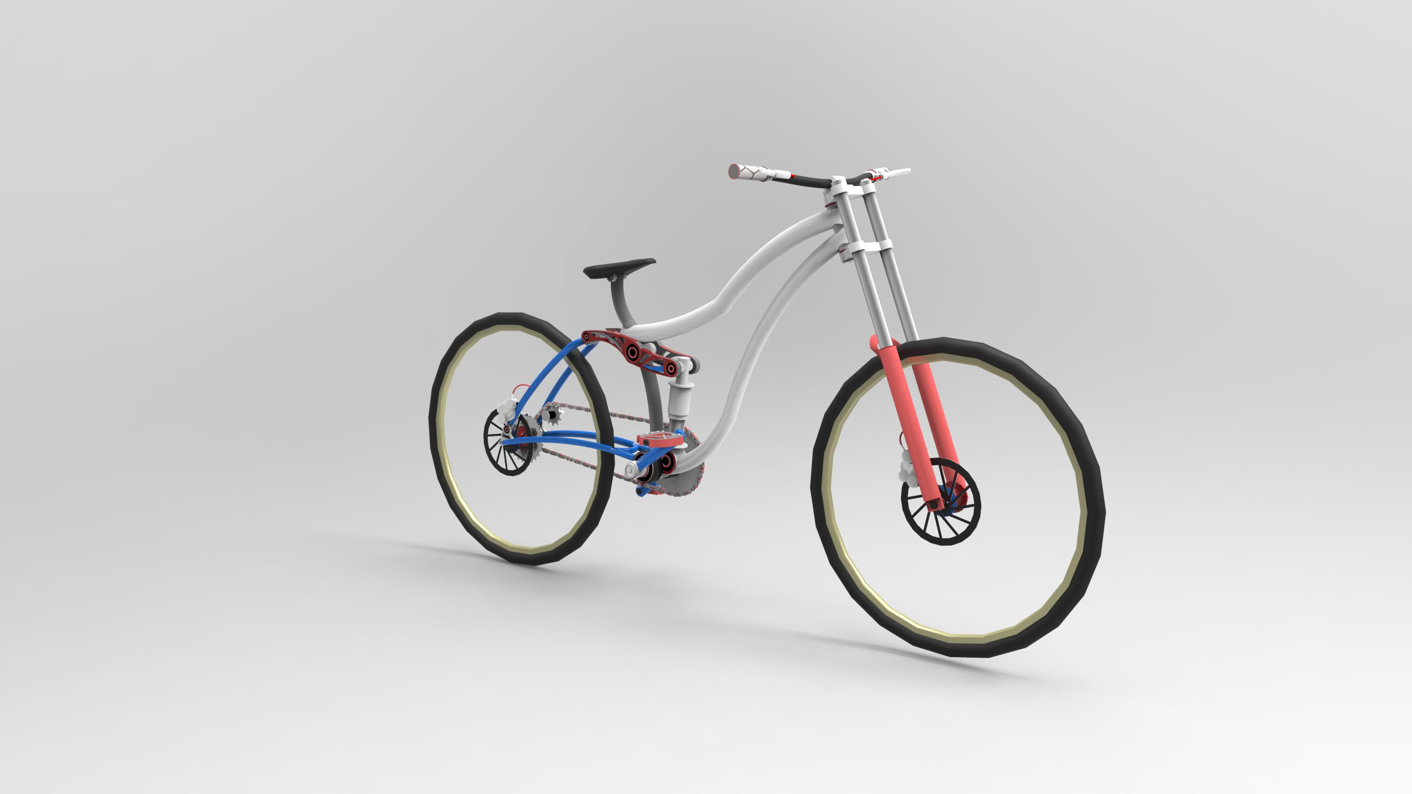 Print on Demand: 50 Render Simple Bicycle Graphic Illustrations By Gblack Id