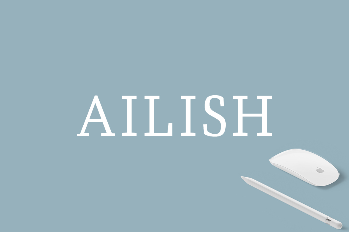 Ailish Font By Creative Tacos
