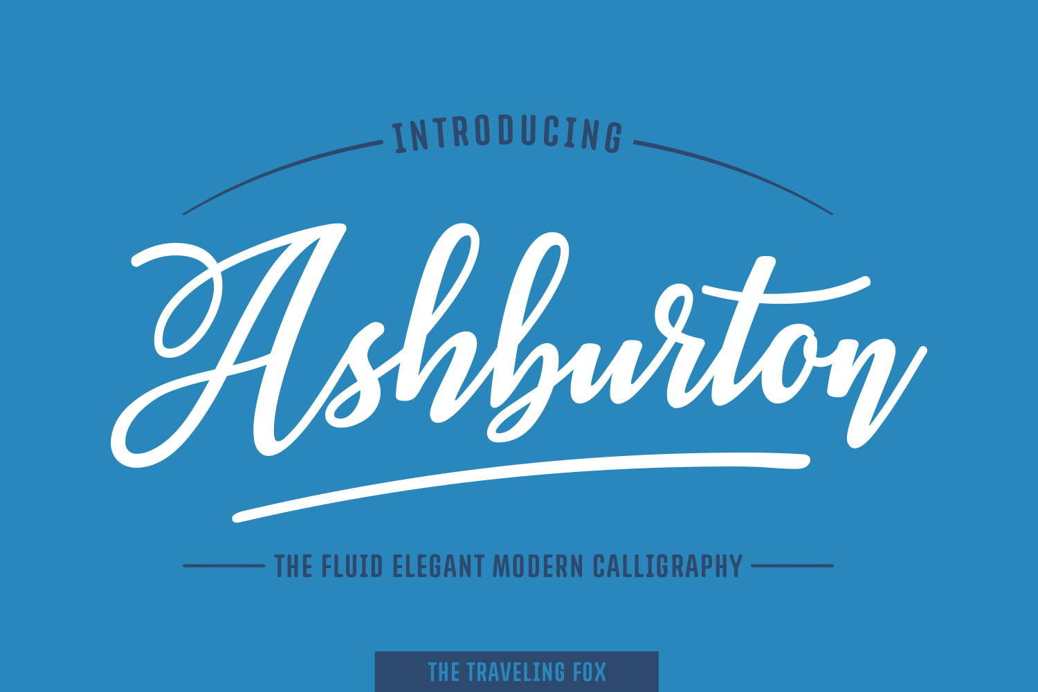 Print on Demand: Ashburton Script & Handwritten Font By The Traveling Fox
