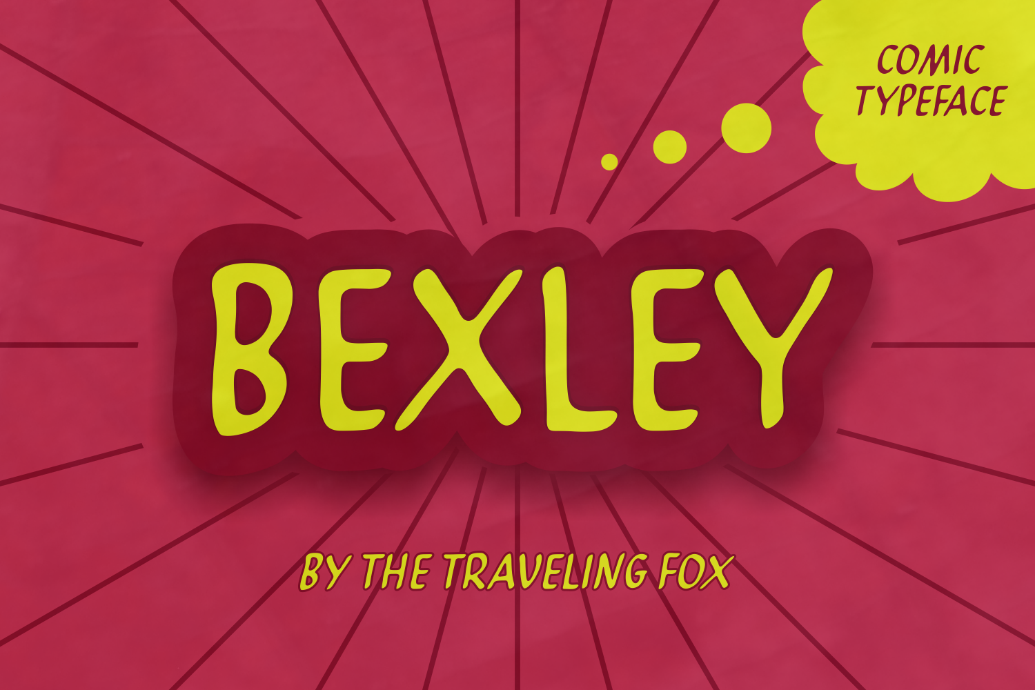 Print on Demand: Bexley Display Font By The Traveling Fox