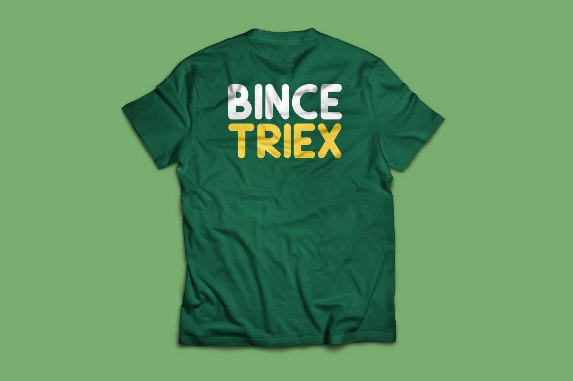 Print on Demand: Bince Triex Display Font By Contour Fonts - Image 4