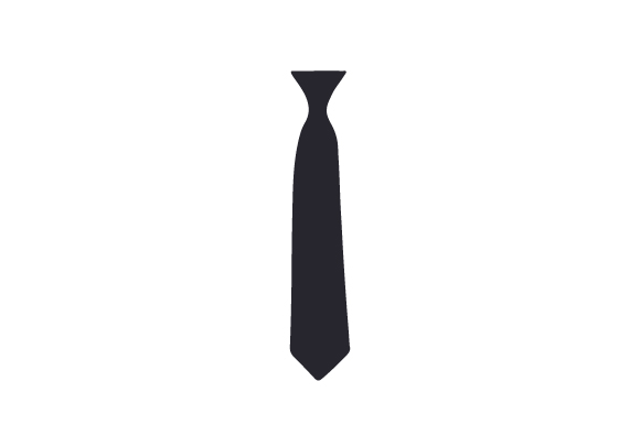 Black Necktie Designs & Drawings Craft Cut File By Creative Fabrica Crafts