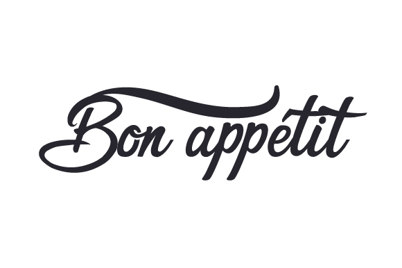 Download Free Bon Appetit Svg Cut File By Creative Fabrica Crafts Creative for Cricut Explore, Silhouette and other cutting machines.