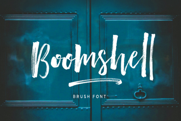 Print on Demand: Boomshell Script & Handwritten Font By Dhan Studio