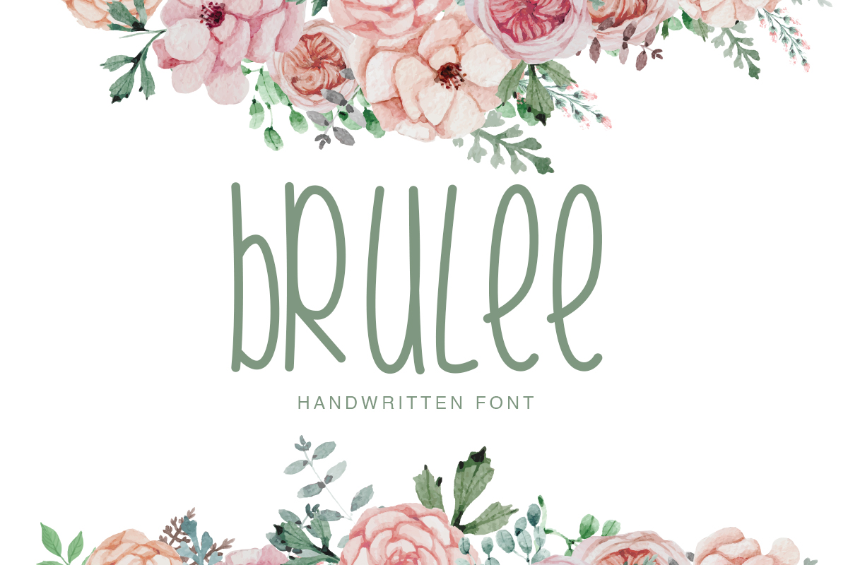 Print on Demand: Brulee Decorative Font By Factory738