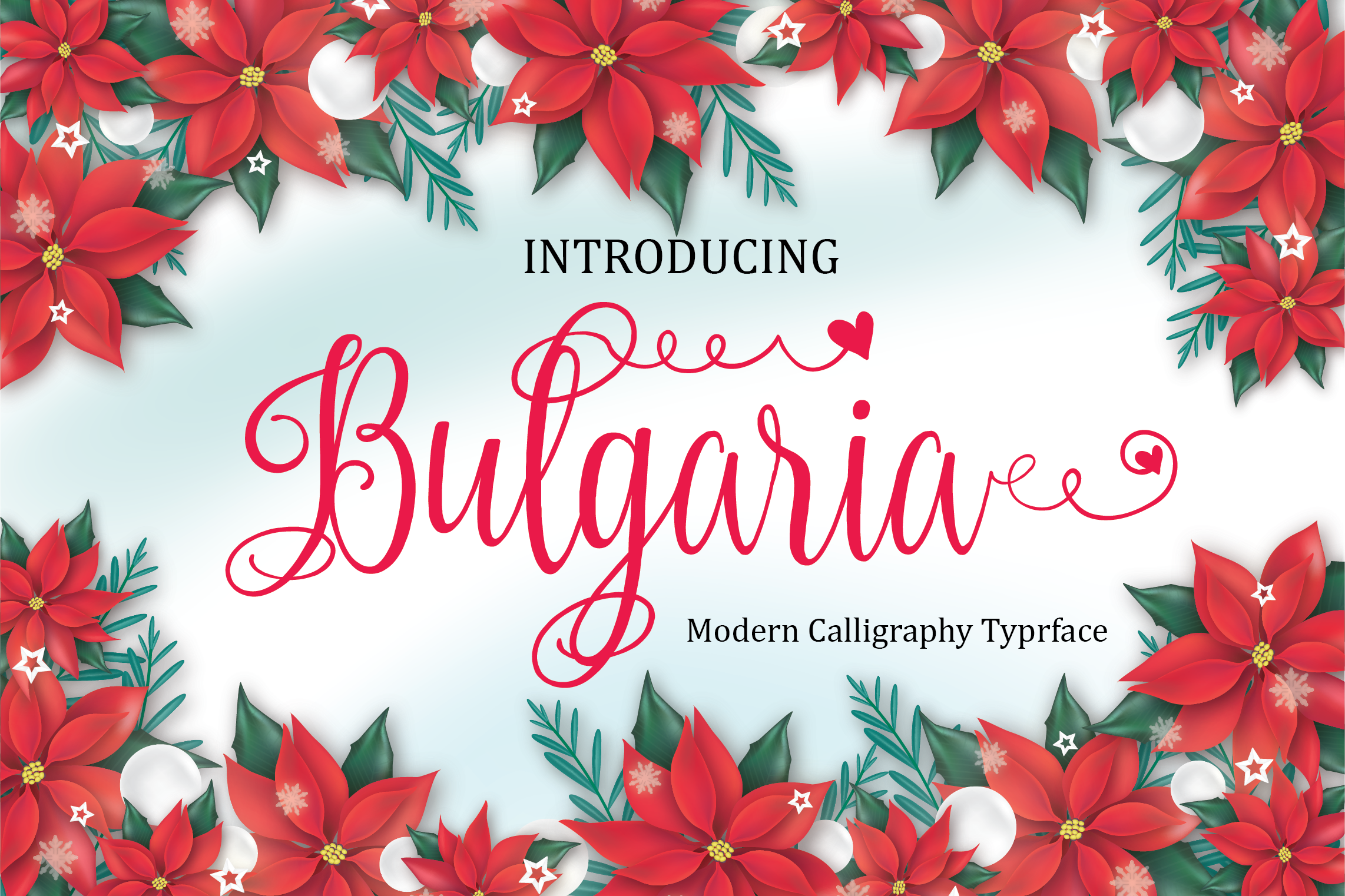 Print on Demand: Bulgaria Script Script & Handwritten Font By ed.creative