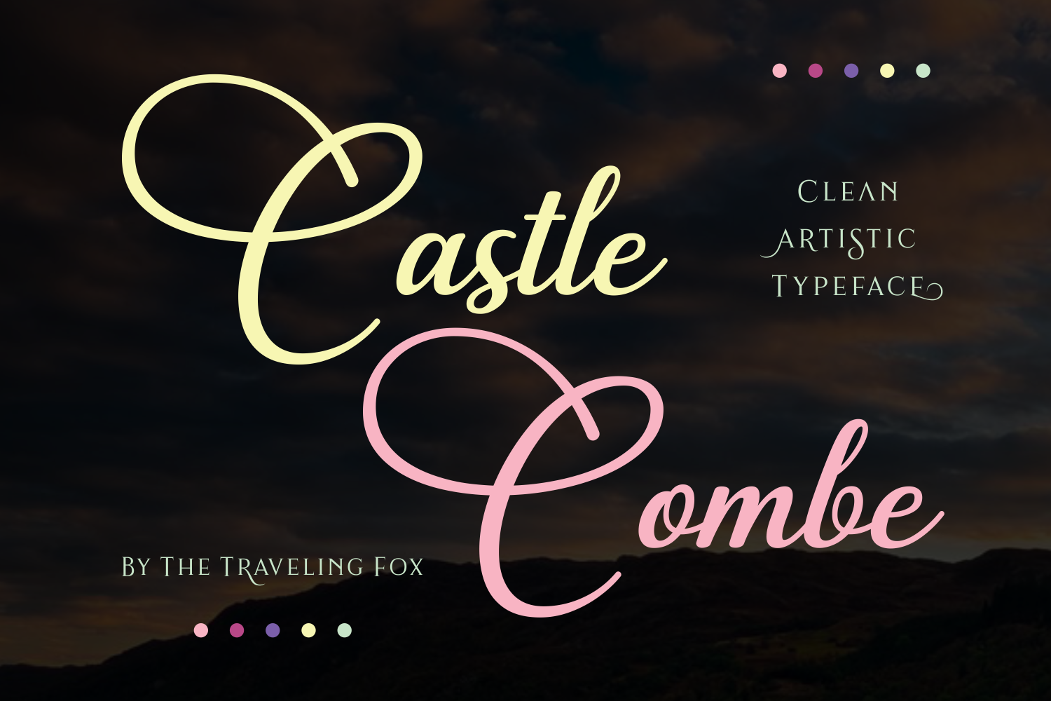 Print on Demand: Castle Combe Script & Handwritten Font By The Traveling Fox