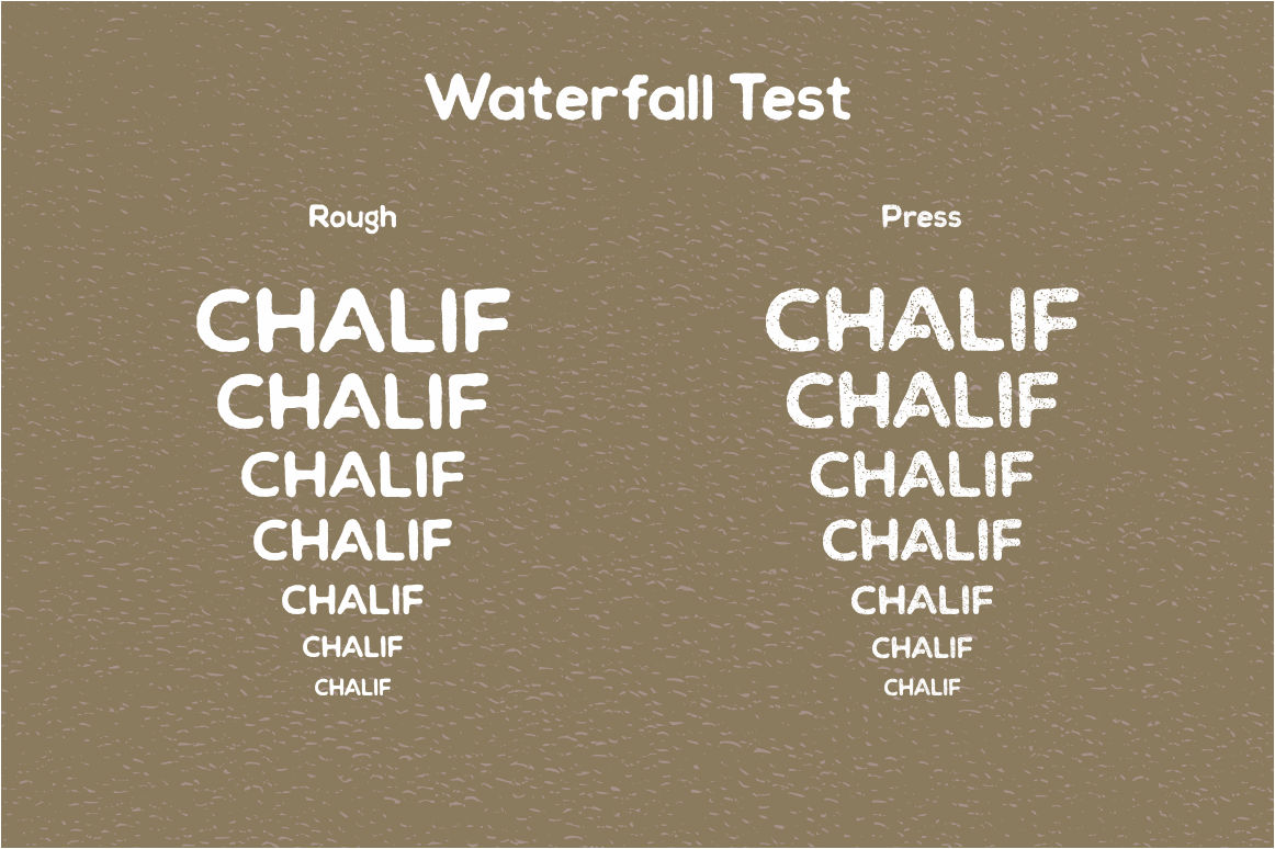Print on Demand: Chalif Display Font By Viaction Type.Co - Image 3