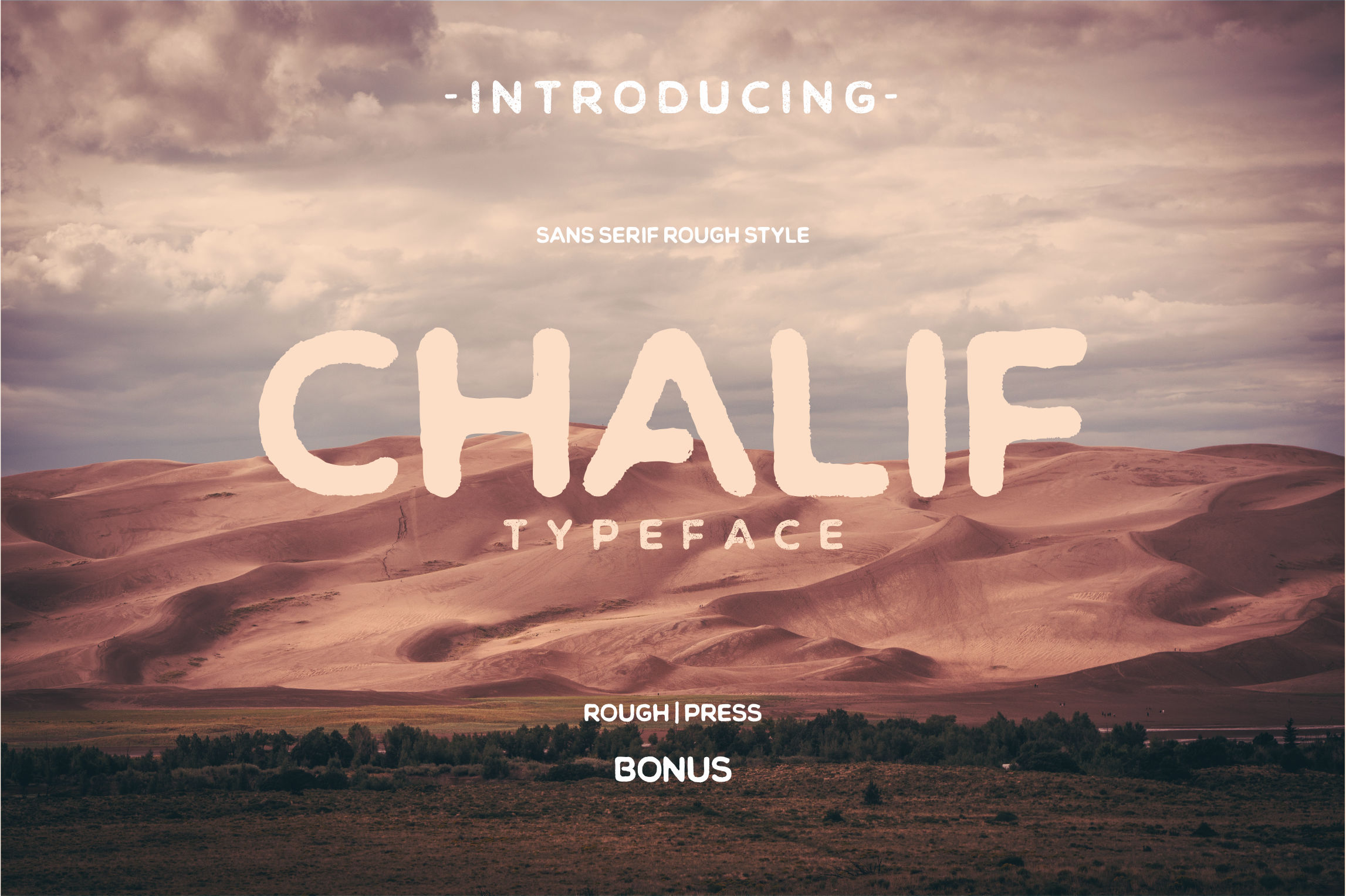 Print on Demand: Chalif Display Font By Viaction Type.Co