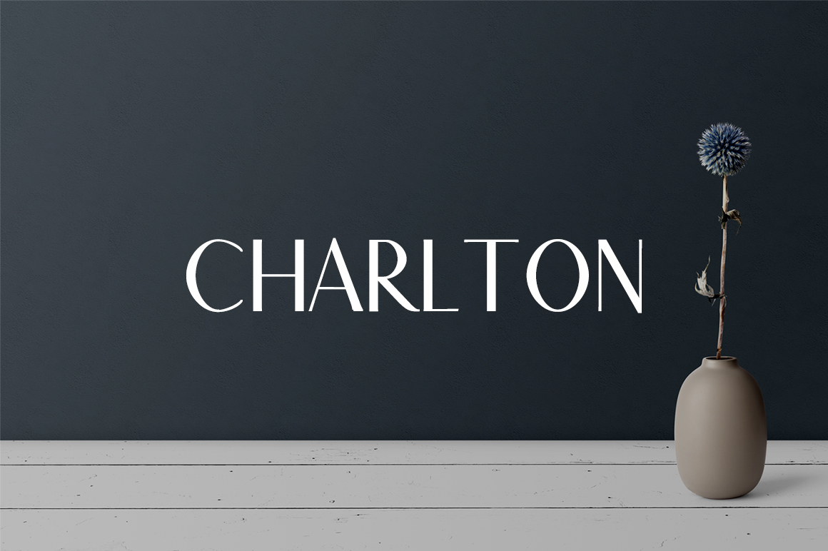 Print on Demand: Charlton 7 Font Family Pack Sans Serif Font By Creative Tacos