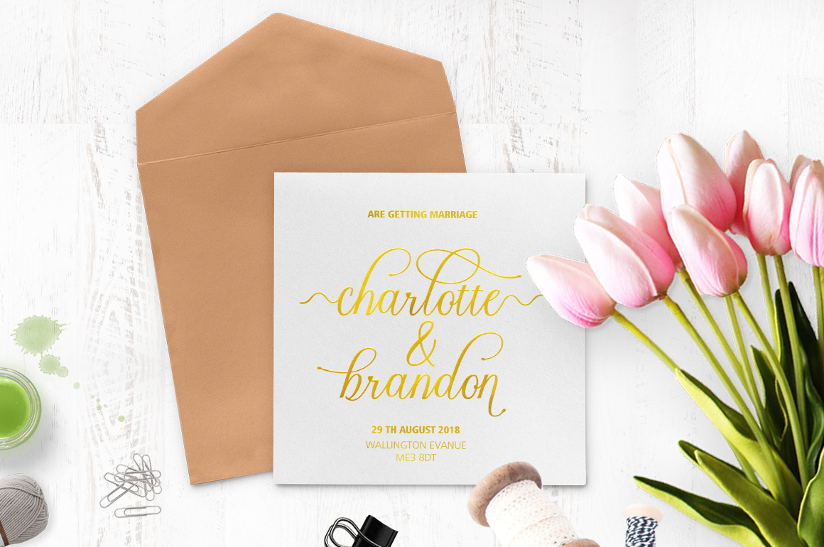Print on Demand: Charmington Script & Handwritten Font By Cooldesignlab - Image 2