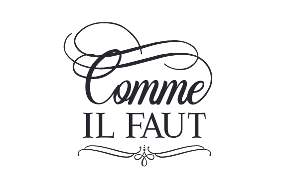 Comme Il Faut France Craft Cut File By Creative Fabrica Crafts
