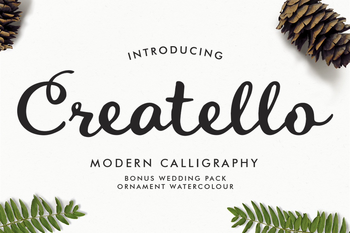 Print on Demand: Creatello Script Script & Handwritten Font By lickermelody