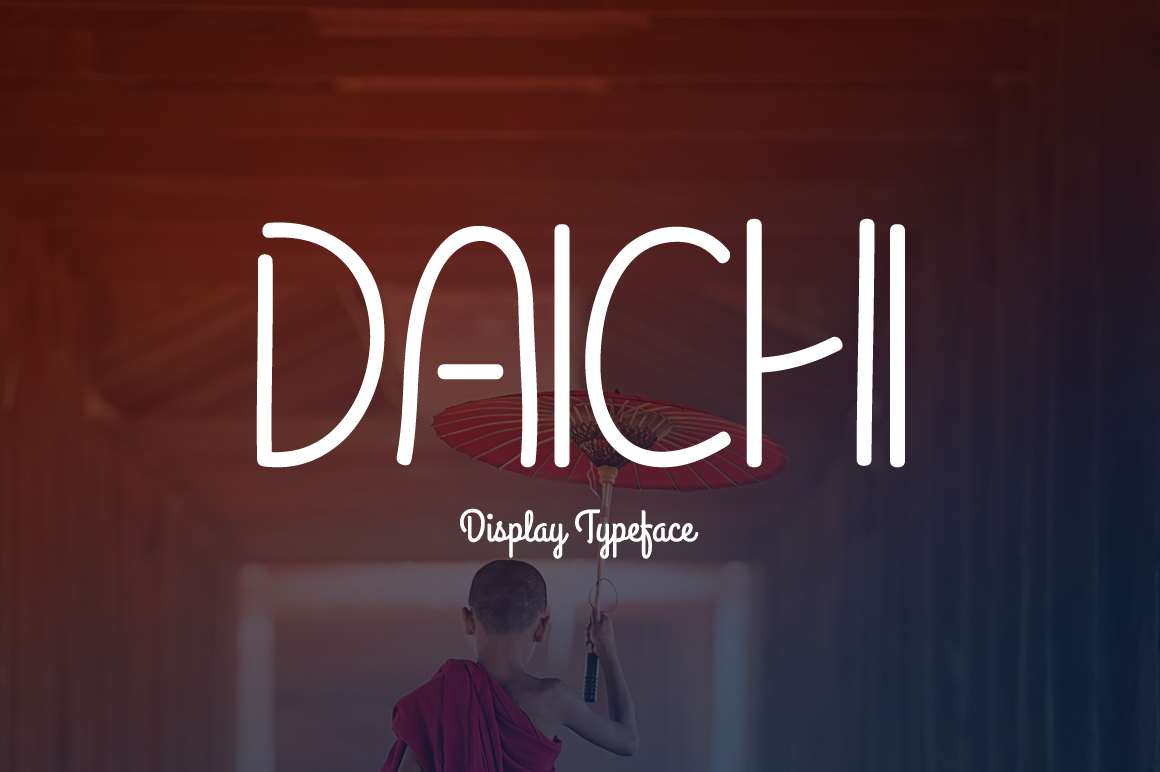 Daichi Display Font By Contour Fonts