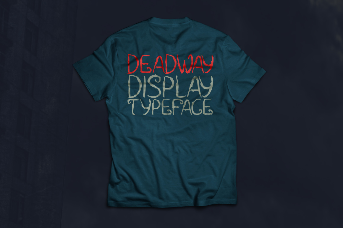 Print on Demand: Deadway Display Font By Contour Fonts - Image 3