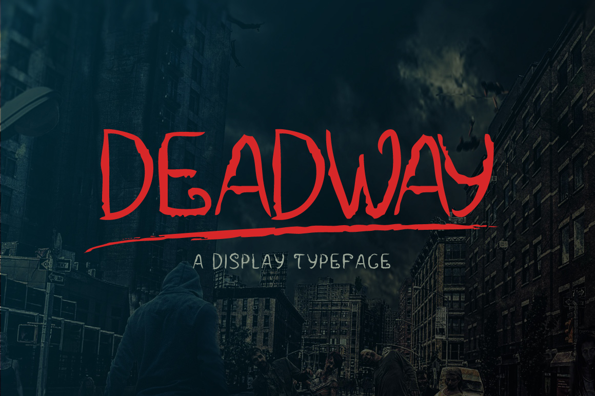Print on Demand: Deadway Display Font By Contour Fonts