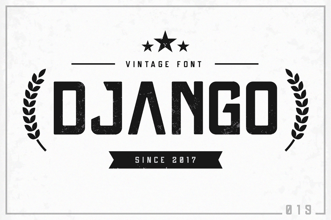 Print on Demand: Django Display Font By Factory738 - Image 5