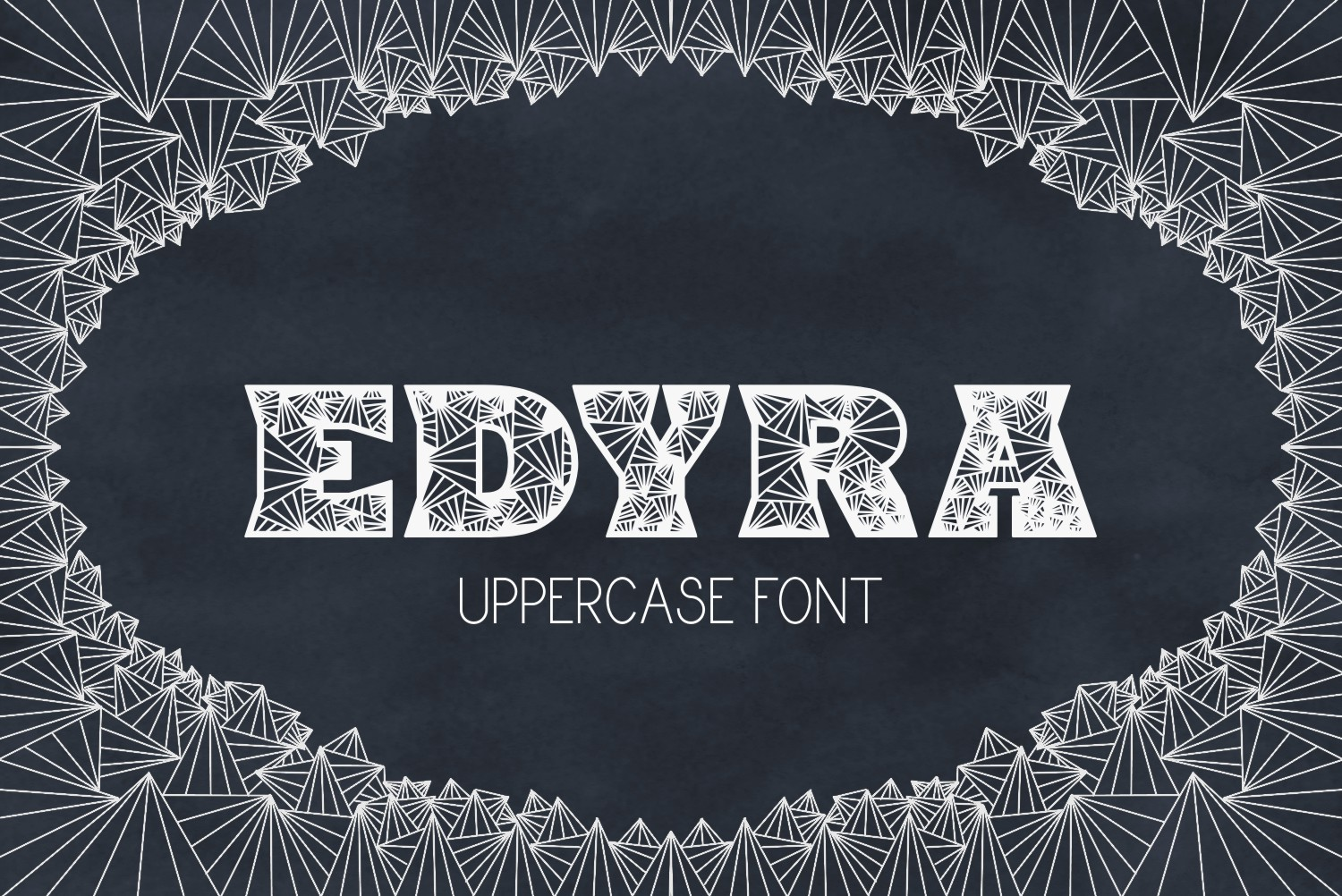 Print on Demand: Edyra Decorative Font By Eva Barabasne Olasz
