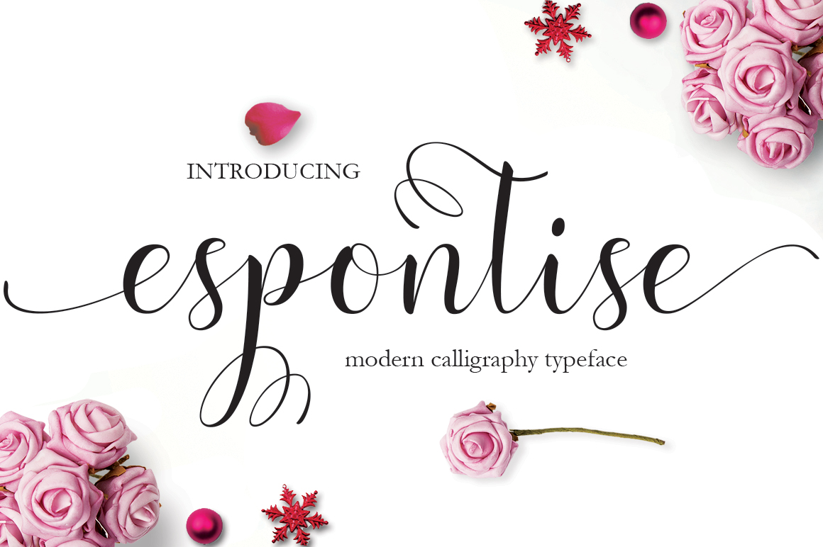 Download Free Espontise Free Font Cyber Monday Creative Fabrica for Cricut Explore, Silhouette and other cutting machines.