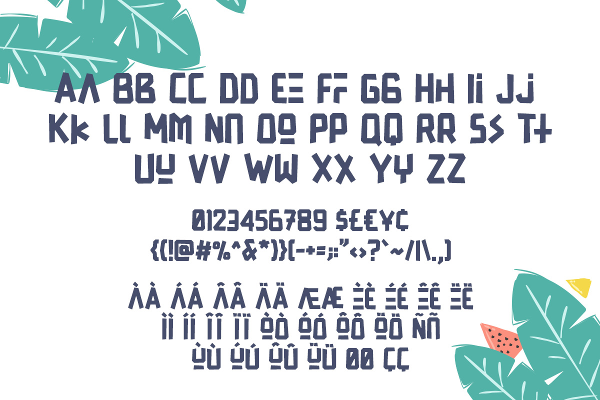 Print on Demand: Franky Display Font By Factory738 - Image 3