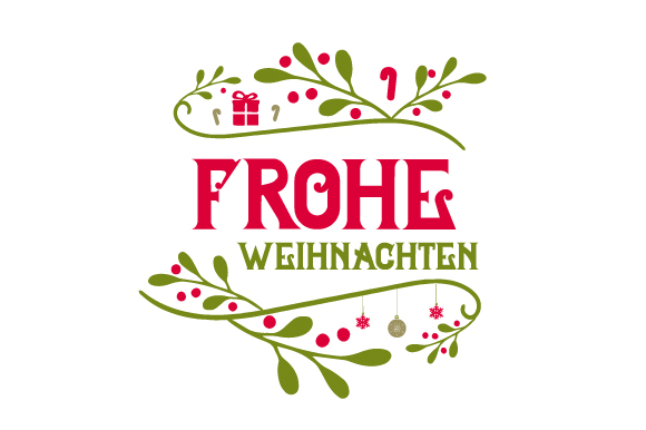 Frohe Weihnachten (SVG Cut file) by Creative Fabrica Crafts ...