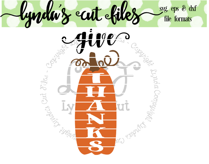 Download Free Give Thanks Svg Eps Dxf Studio File Grafico Por Lynda S Cut for Cricut Explore, Silhouette and other cutting machines.