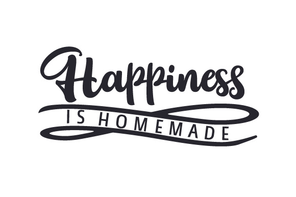 Invaluable image for homemade happiness