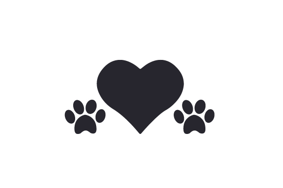 Download Free Heart With 2 Paw Prints Svg Cut File By Creative Fabrica Crafts for Cricut Explore, Silhouette and other cutting machines.